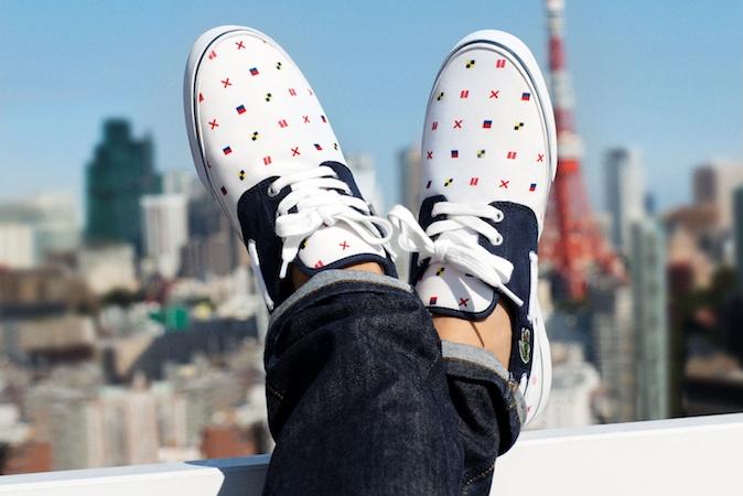 bda0076504 Lacoste Live! - Unconventional Chic - Chaussures Baskets - Tokyo - 2013 -  TBTC_ -