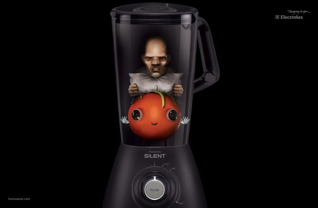 Electrolux - tomate -Powermix Silent - Revolution - Avril 2013 - TBTC - G-Communication