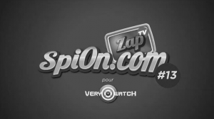 Zap-Tv-Spion-13-The-Very-Watch-3eme-Oeil-Tbtc_-G-Comunnication-Blanc-Noir-White-Black