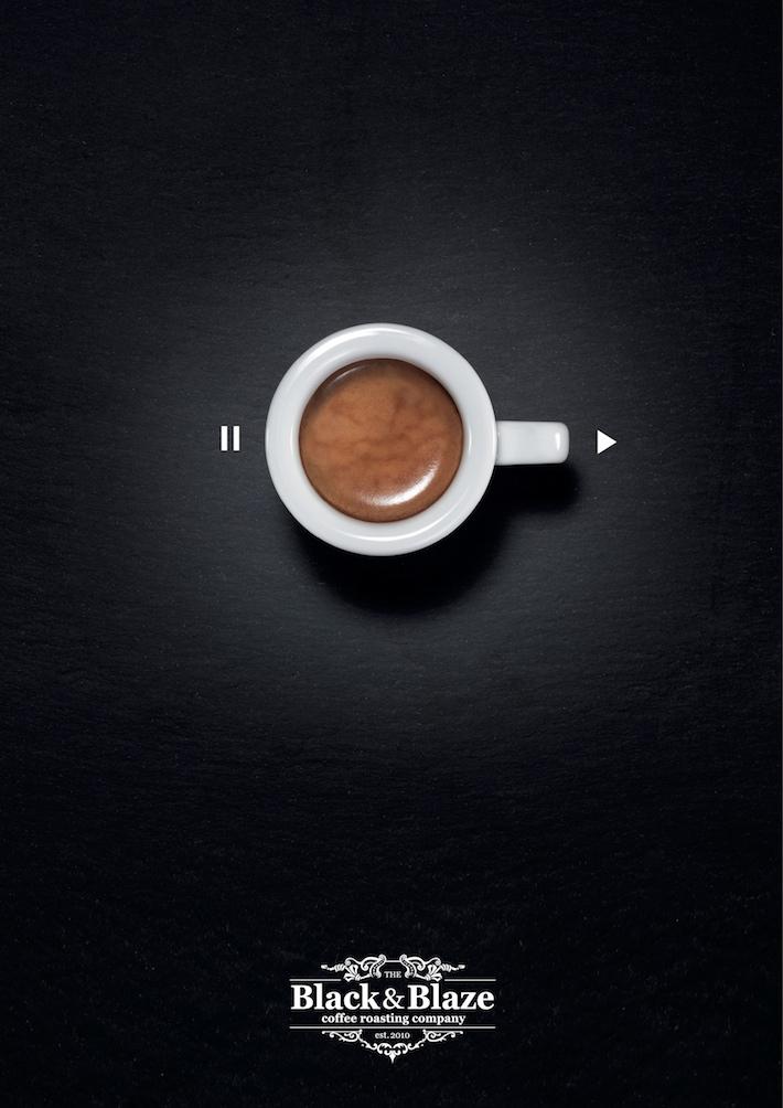 Black&Blaze-Turn-you-on-the-max-Cafe-Coffee-Ad-Presse-Print-6
