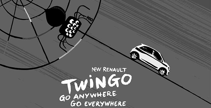 TBTC-G-communication-Renault-Twingo-Araignée-noir-et-blanc