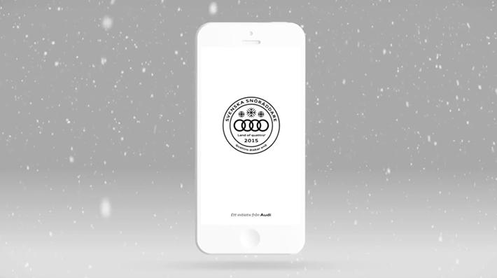Trop Bon Trop Com - #TBTC Audi : Application pour contacter les secours en Suède