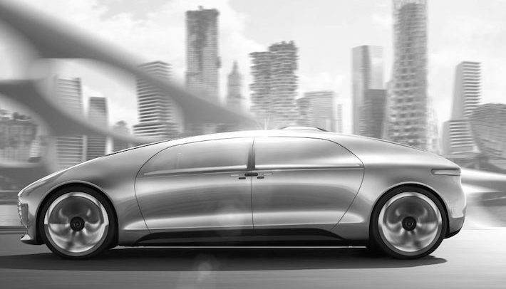 Trop Bon Trop Com - #TBTC Mercedes-Benz : F 015 Luxury in motion 1