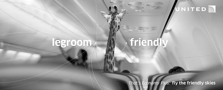 Trop Bon Trop Com - #TBTC United Airlines : L'espace confortable pour les jambes  ... C'est en classe économique Plus. 1