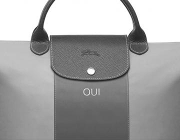Trop Bon Trop Com - #TBTC Longchamp : Le Pliage personnalisable Nylon & Cuir