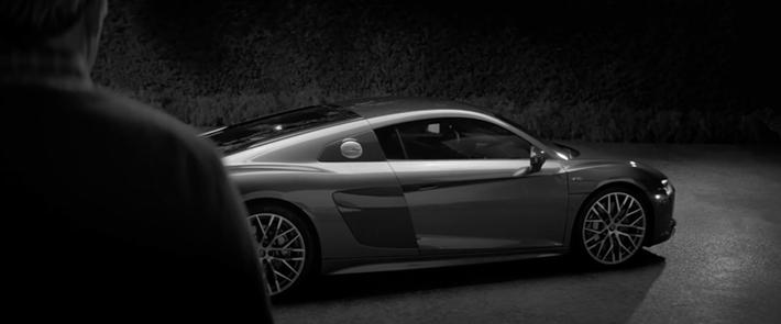 Audi R8 Super Bowl