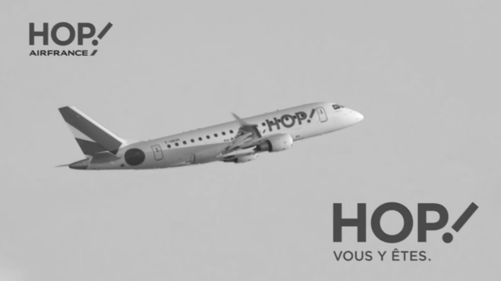 HOP Air France Prenez de la hauteur