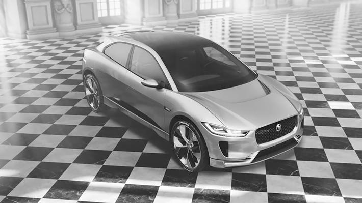 Jaguar La nouvelle I-PACE Concept