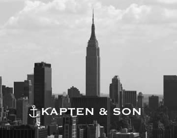 Kapten & Son New York