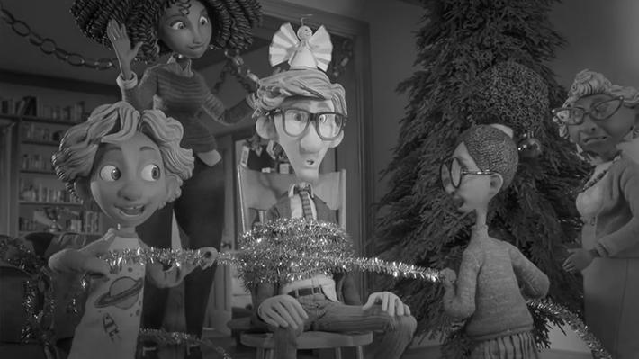Sainsbury's film de Noel