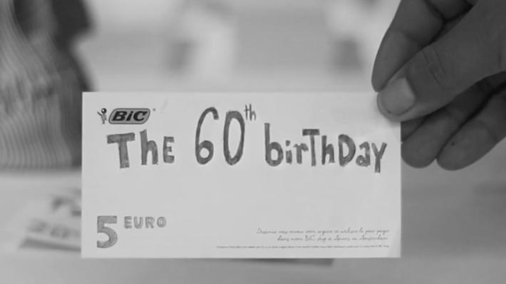 BIC Le 60ème anniversaire