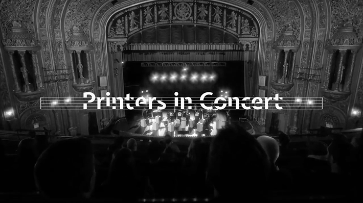 Canon Printers in concert