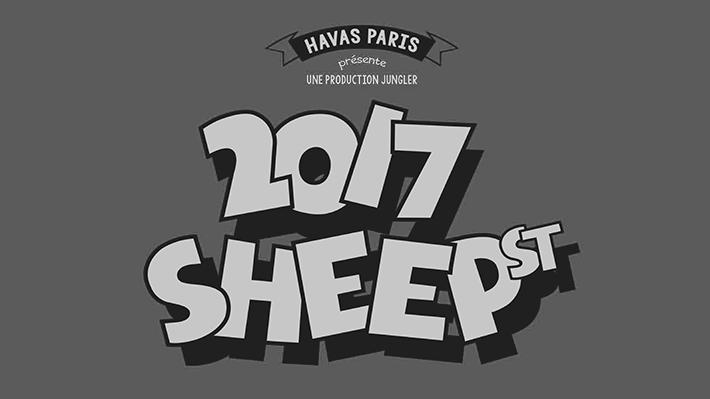 """""""2017 SHEEP STREET"""" Havas Paris présente ses meilleurs vœux !"""