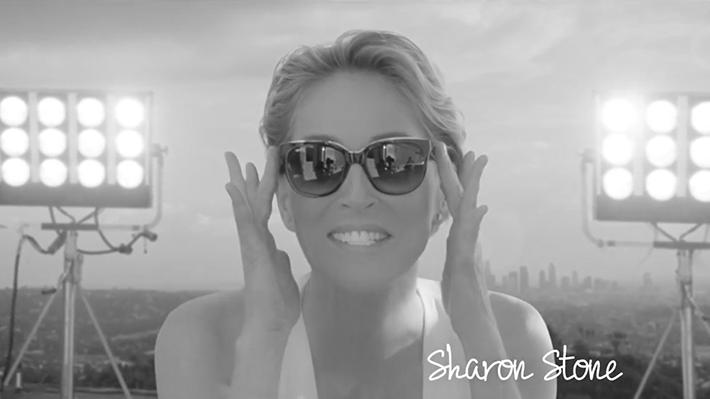 Alain Afflelou Sharon Stone