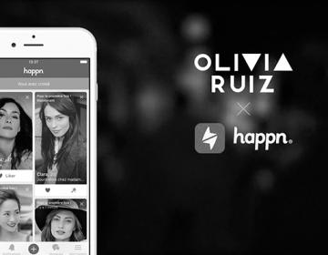 Happn : OLIVIA RUIZ X HAPPN