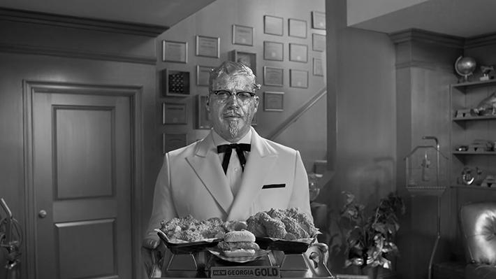 KFC : Colonel vs. Colonel