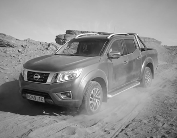 Nissan : Rumble in the desert