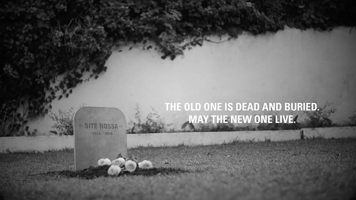 Nossa-old-website-funeral-2017-Pub-Publicité-Campagne-Campaign-TV-Video-Ad-Advertising- TBTC-G-Communication-Noir-Blanc-Black-White