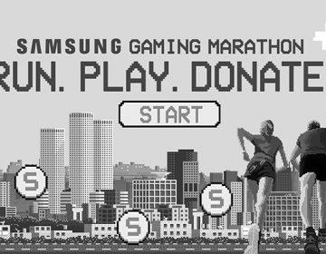 Samsung Le gaming marathon