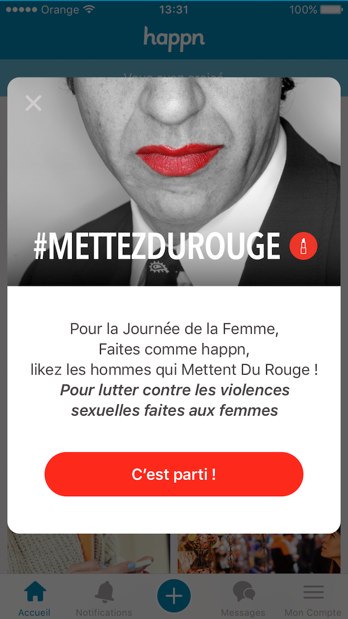 Happn Met du Rouge 01