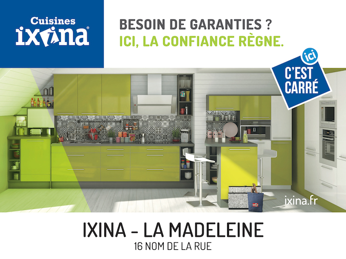 ixina quand ixina tout va cuisine paris france 2017 pub publicit campagne campaign tv video ad. Black Bedroom Furniture Sets. Home Design Ideas