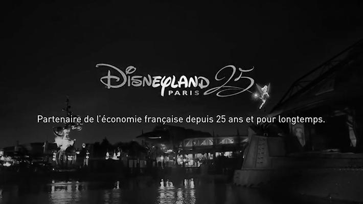 Disneyland Paris : Partenaire de l'économie française depuis 25 ans