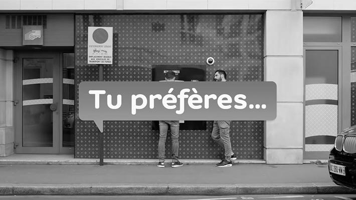 Hello Bank : Tu préfères...