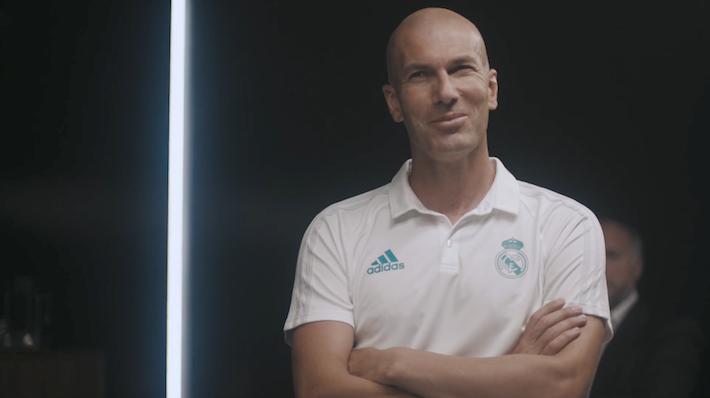 Zinedine Zidane Adidas