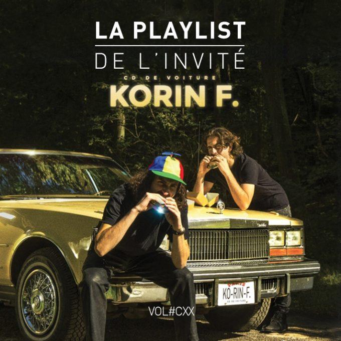 Korin F Cover Playlist Invite