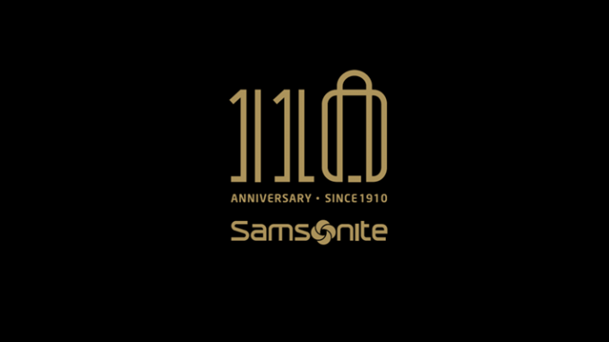 Samsonite 110 Anniversaire