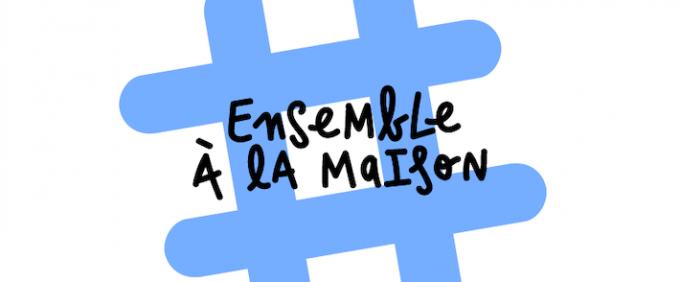 #Ensembleàlamaison Facebook Cover Campagne TBTC