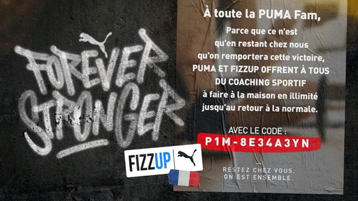 Puma Forever Stronger Covid TBTC Cover
