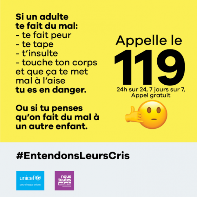 Unicef France Entendons leurs cris TBTC Cover