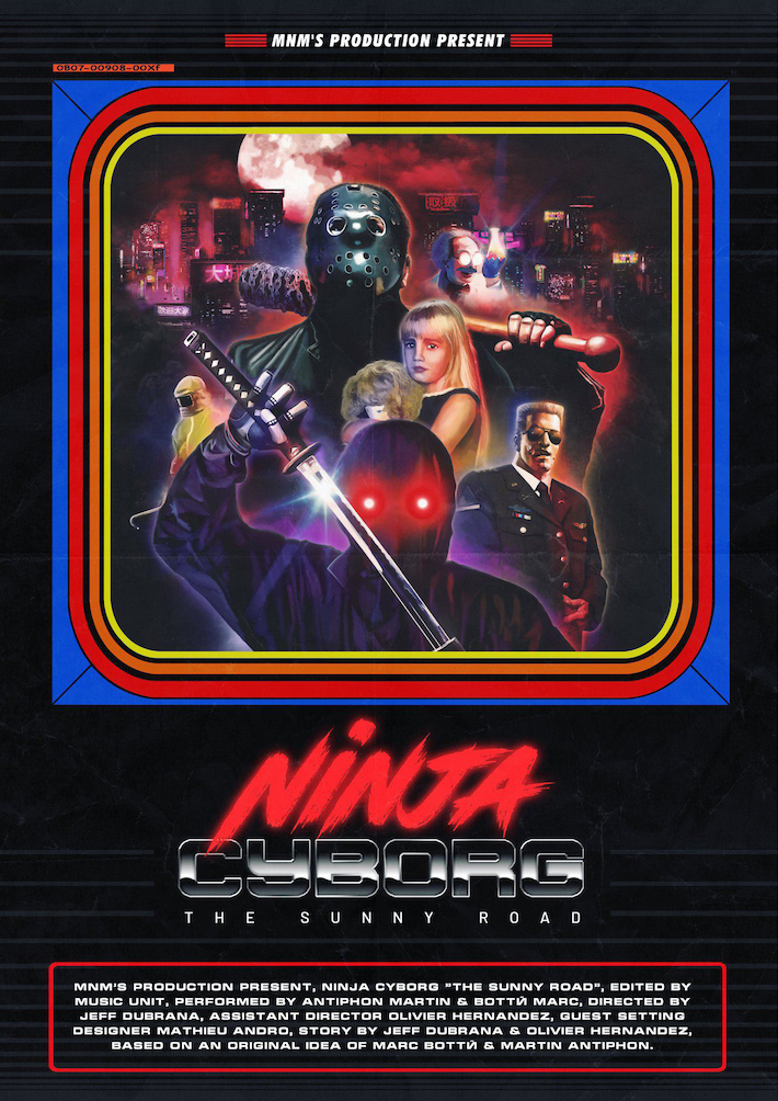 Ninja Cyborg TBTC Cover Playlist Musique EP