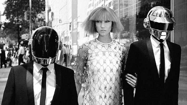 Trop Bon Trop Com - #TBTC Vogue : Daft Punk & Karlie Kloss in New York