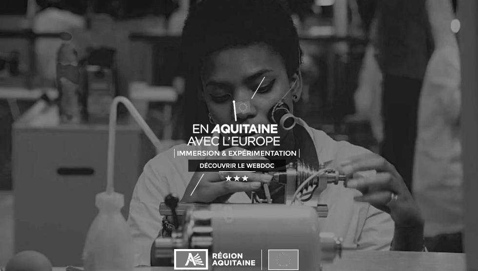 Trop Bon Trop Com - #TBTC En Aquitaine avec l'Europe : Webdocumentaire 6