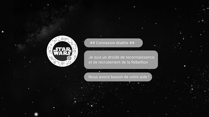 The Walt Disney Company France : Rogue One -A Star Wars Story- Rejoignez la Rébellion sur Facebook Messenger !