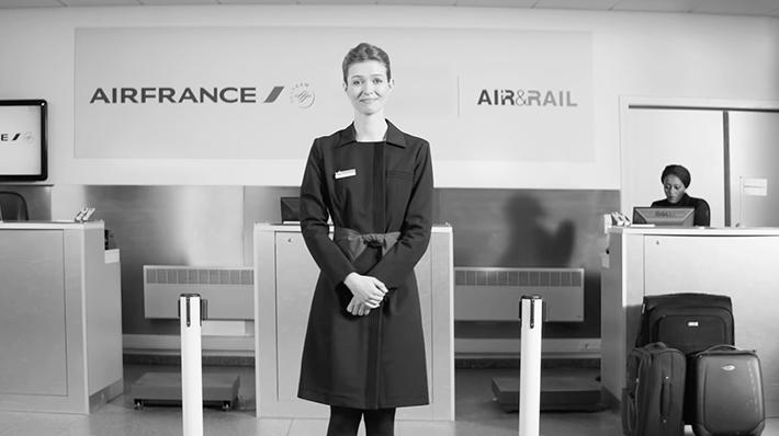 Air France : French Kiss & Ride en Belgique
