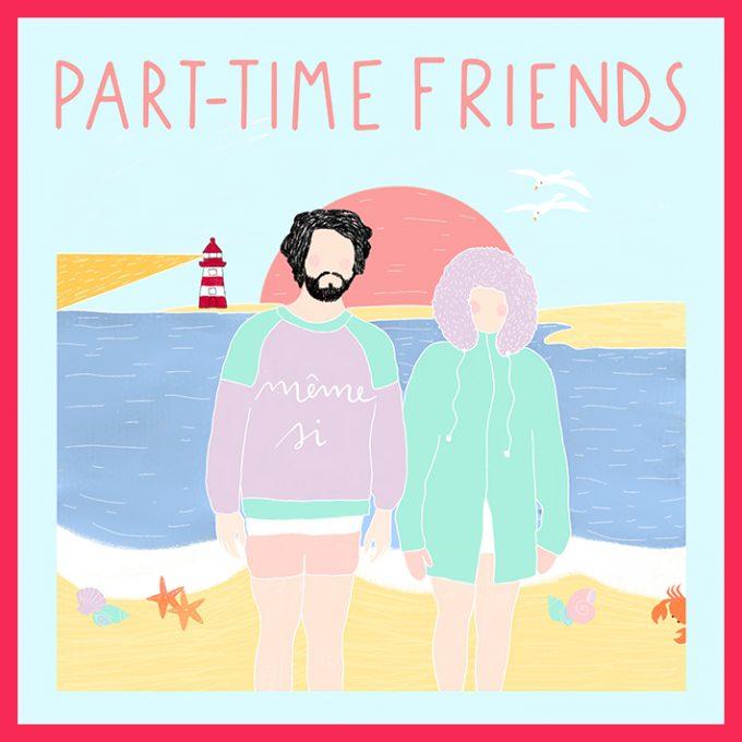 Playlist Invite Part-Time Friends Cover TBTC